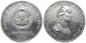 Bayern - Regensburg - 1791 - Leopold II. (1790-1792) - Konventionstaler - f.vz