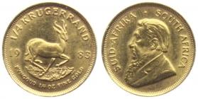 Südafrika - 1983 - Krügerrand - Springbock - 1/4 Unze - st