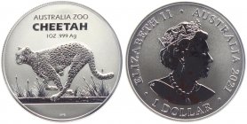 Australien - 2021 - Gepard - 1 Dollar - st