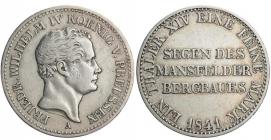 Brandenburg - Preussen - 1841 A - Friedrich Wilhelm IV. (1840 - 1861) - Ausbeutetaler - ss+