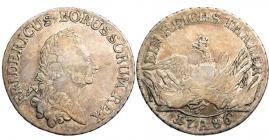 Brandenburg - Preussen - 1786 A - Friedrich II. (1740-1786) - Der alte Fritz - Taler - ss+