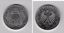 BRD - 2021 - Fußball EM 2021 - 20 Euro - bankfrisch