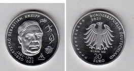 BRD - 2021 - Sebastian Kneipp - 20 Euro - bankfrisch