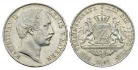 Bayern - 1861 - Maximilian II. Joseph (1848 - 1864) - Taler - vz+