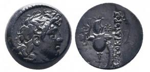 Griechenland - Seleukid Königreich - 142-138 BC v. Chr. - Diodotos Tryphon - Bronze  - vz