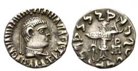 Griechenland - Baktrien - 110 - 80 v. Chr. / BC - Apollodotos II. (110-80-v. Chr.) - Drachme - f.vz