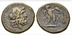 Griechenland - Mysien - Pergamon Stadt - 133 - 67 BC - AE 20 - ss+