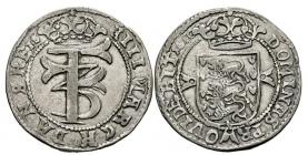 Schleswig-Holstein - 1660 - Friedrich III. (1648 - 1670) als dänischer König - 4 Mark / Krone - ss