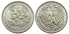 Weimarer Republik - J 332 - 1928 D - Albrecht Dürer - 3 Reichsmark - f.st