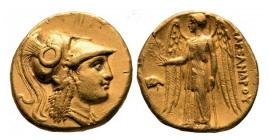 Griechenland - Macedonien - Alexander III. - Alexander der Große (336-323 v. Chr.) - Stater - ss