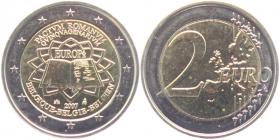 Belgien - 2007 - Römische Verträge - 2 Euro - bfr