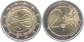 Belgien - 2009 - Währungsunion - 2 Euro - bfr