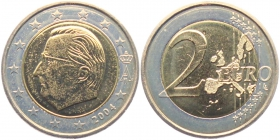 Belgien - 2004 - Albert II. - 2 Euro - bfr