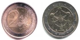 Belgien - 2006 - Atomium in Brüssel - 2 Euro - bfr