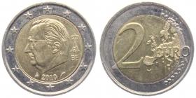 Belgien - 2010 - Albert II. - 2 Euro - bfr