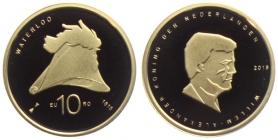 Niederlande - 2015 - 200 Jahre Schlacht bei Waterloo - Willem Alexander (seit 2013) - 10 Euro - PP