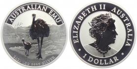 Australien - 2021 - Emu - 1 Dollar - 1 Unze - st