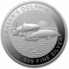 Australien - 2021 - Frazers Delfin - 1 Dollar - 1 Unze - st