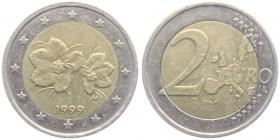 Finnland - 1999 - Moltebeere - 2 Euro - cir.