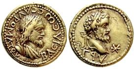 Griechenland - Bosporus - 174-210 - Tiberius Julius Sauromates II. (174/75-210/11) - EL Stater - vz