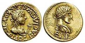 Griechenland - Bosporus - 211-227 - Rhescuporis II. (211/12-226/27) - EL Stater - vz