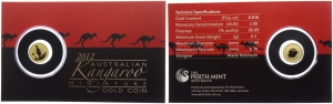 Australien - 2012 - Känguruh - 2 Dollar - PP im Blister