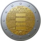 Andorra - 2017 - Nationalhymne - auf Coincard - 2 Euro - st