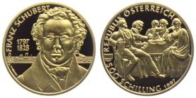 Österreich - 1997 - Franz Schubert - 500 Schilling - PP