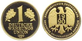 BRD / DDR - 1990 - Währungsunion - 1 Mark - st