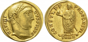 Römische Kaiserzeit - Aureus - Maximinus Daia (310-313) - vz