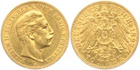 Preussen - J 251 - 1897 A - Wilhelm II. (1888 - 1918) - 10 Mark ss