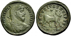 Römische Kaiserzeit - Julianus II. (360 - 363) - Maiorina - ss-vz -  in Slab Ch VF