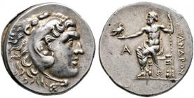 Pamphylia - Perge  - Alexandreier - (221 - 220) - Tetradrachme - vz