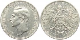 Hessen - J 72 - 1898 A - Ernst Ludwig (1892 - 1918) - 2 Mark - f.vz