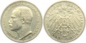 Hessen - J 76 - 1910 A - Ernst Ludwig (1892 - 1918) - 3 Mark - vz
