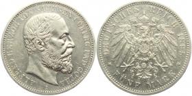 Sachsen-Coburg-Gotha - J 146 - 1895 A - Alfred (1893 - 1900) - 5 Mark - ss-vz