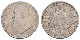 Sachsen-Meiningen - J 151b - 1902 D - Georg II. (1866 - 1914) - 2 Mark - ss-vz